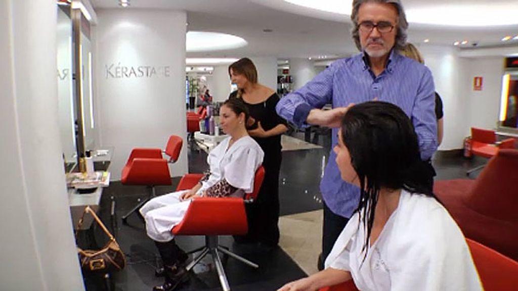 El peluquero que cambió el look de Arantxa