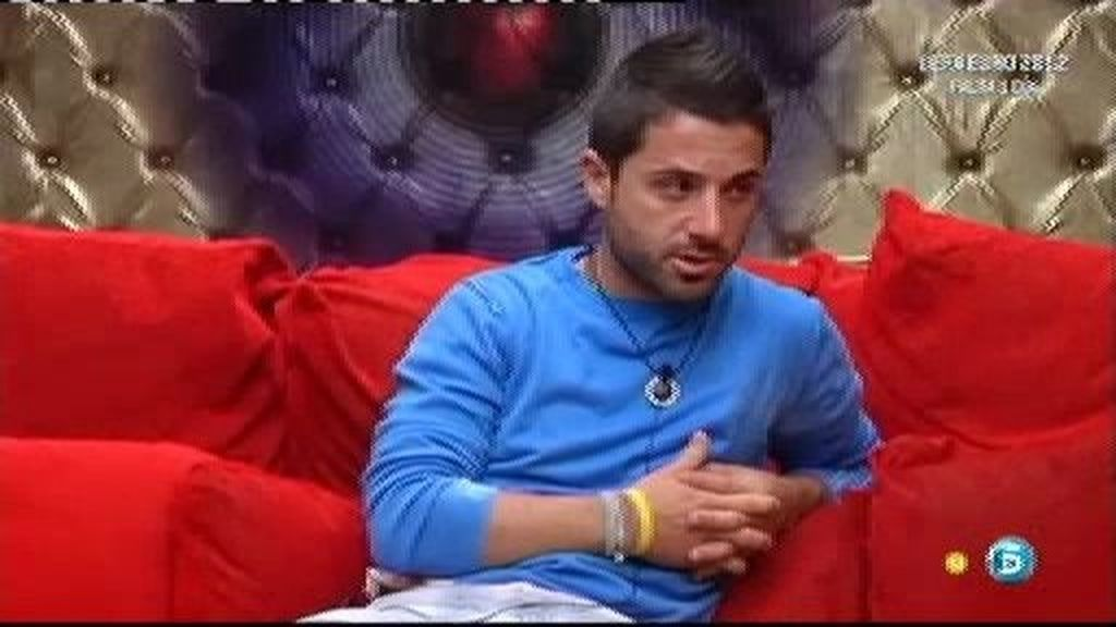 """Cristian: """"Mercedes Milá no está siendo justa conmigo"""""""