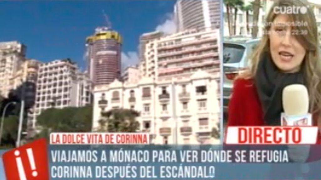 La residencia de Corinna en Mónaco