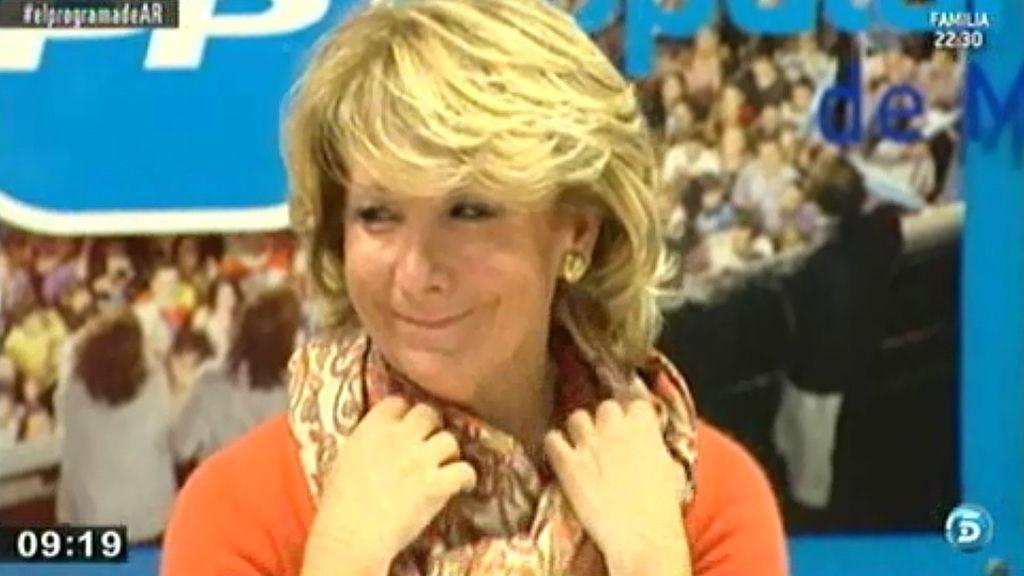 Esperanza Aguirre fichada por una empresa privada 'cazatalentos'