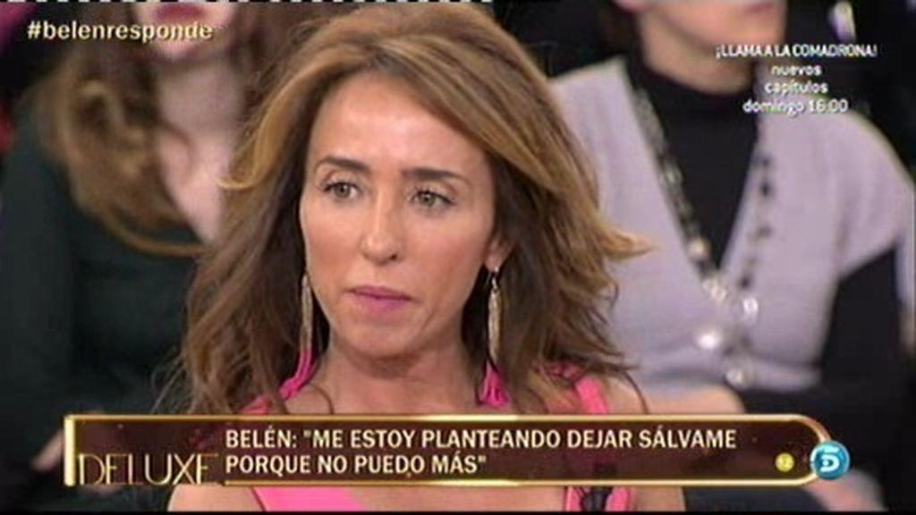 """Belén Esteban, a María Patiño: """"Me has traicionado y me has defraudado"""""""