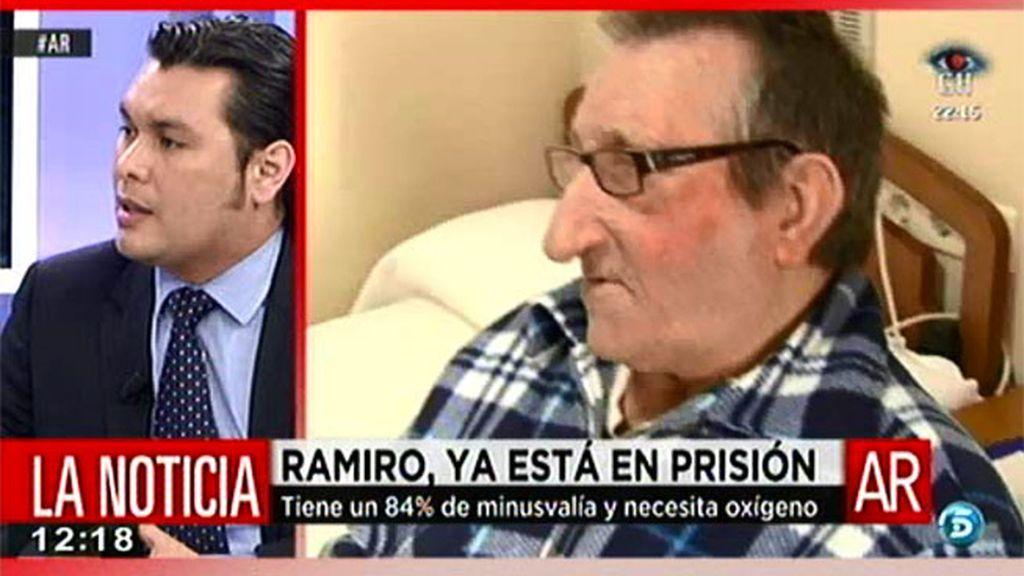 Ramiro ya ha entrado en prisión