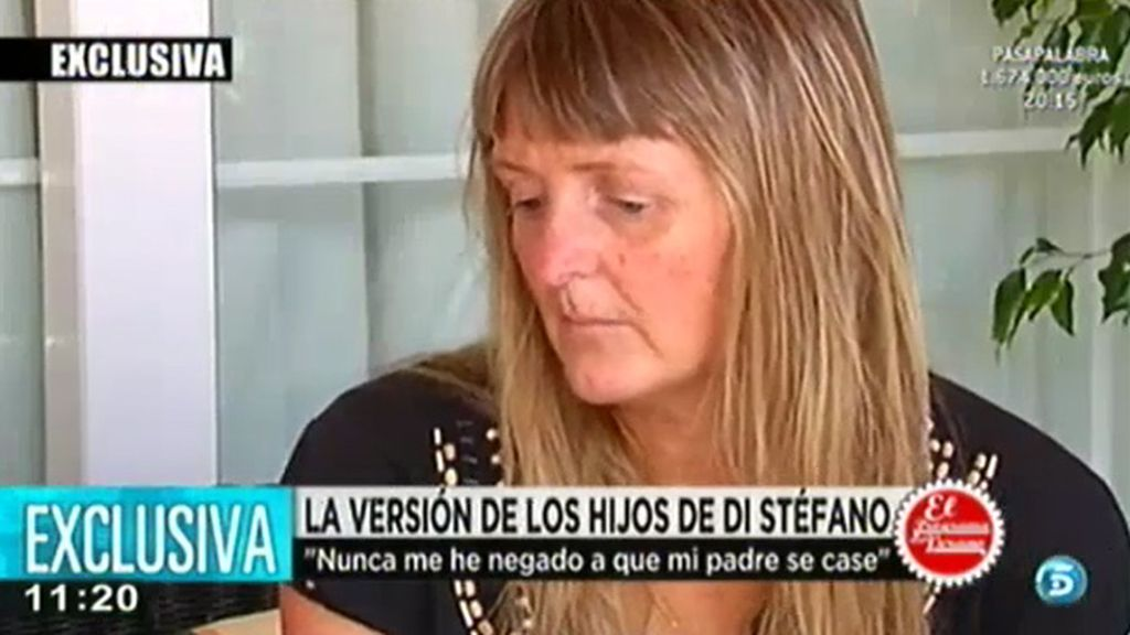 "La hija de Di Stéfano: ""Nunca me he negado a que mi padre se case"""