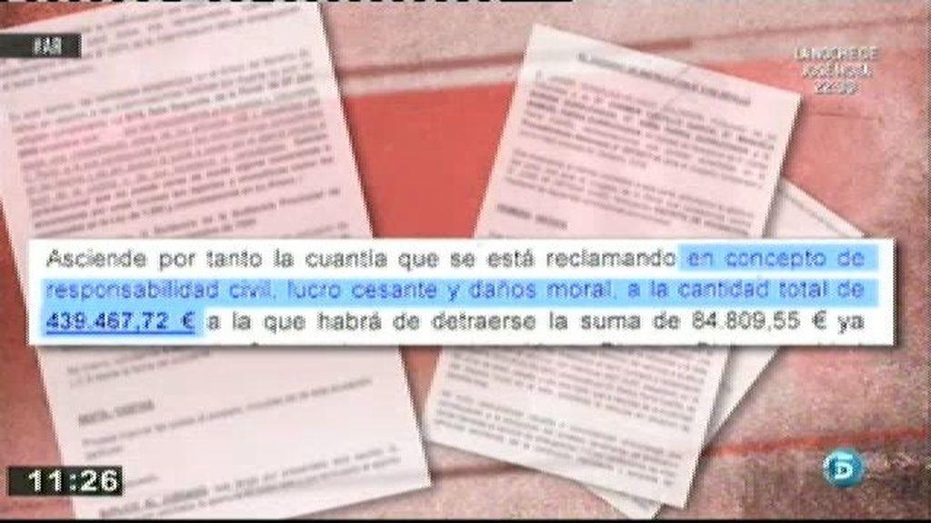 La acusación particular reclama a Ortega Cano 440.000 euros de indemnización