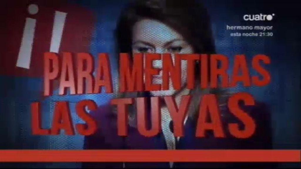 """""""Mª Dolores, para mentiras las tuyas"""""""