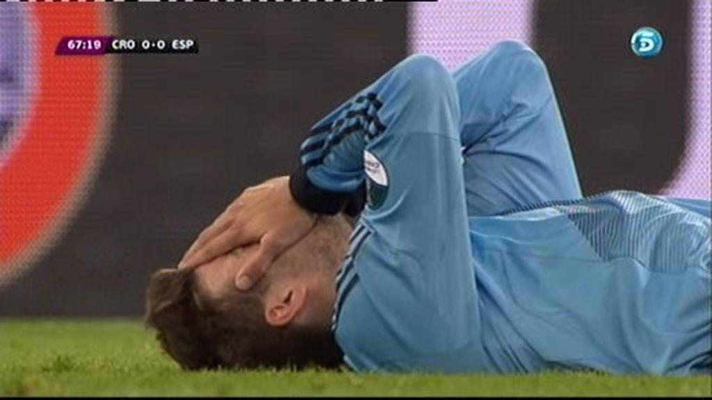 ¿Le hacen penalti a Piqué?