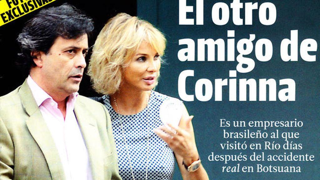 Así es Marcelo Carvalho, el 'otro amigo' con el que se ve Corinna