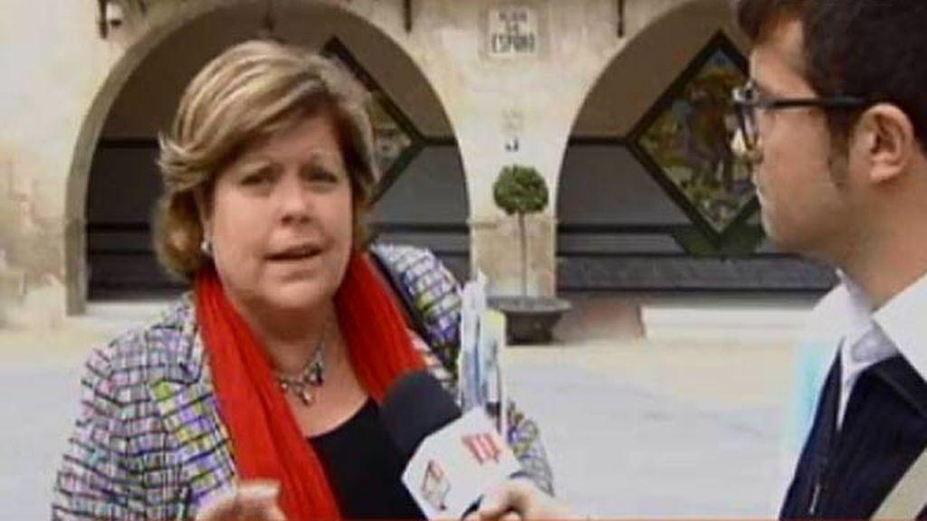 La alcaldesa de Novelda, acusada de gastarse 26.000 euros para acorazar su chalé