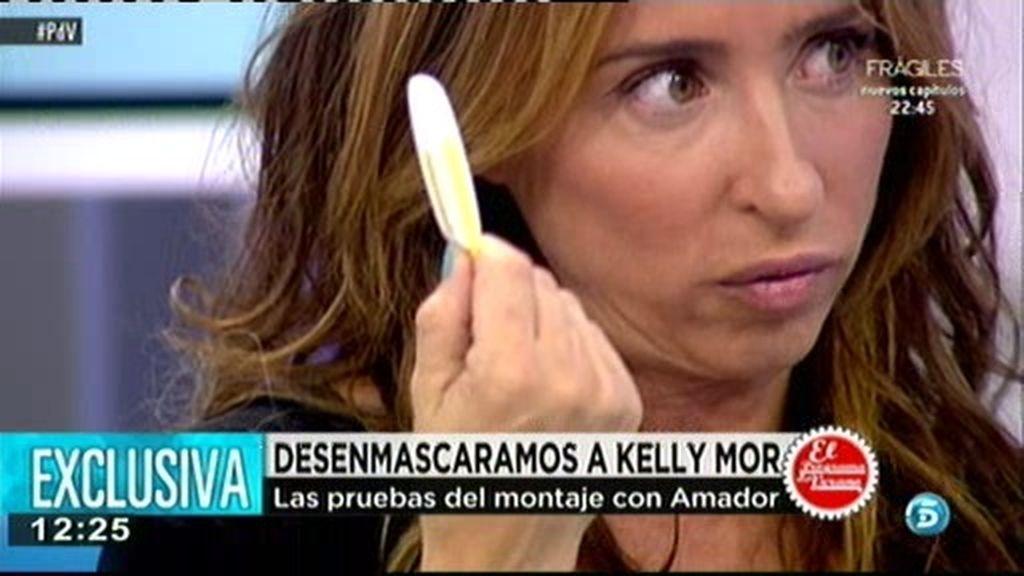 María Patiño desenmascara a Kelly Mor