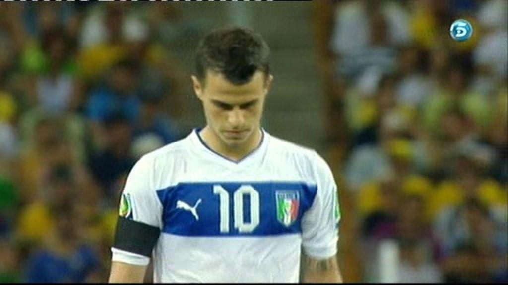 España 3-4 Italia (penalti de Iovinco)