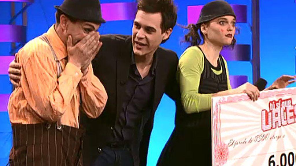 Baccalà Clown, ganadores del especial de humor de 'TSQV'