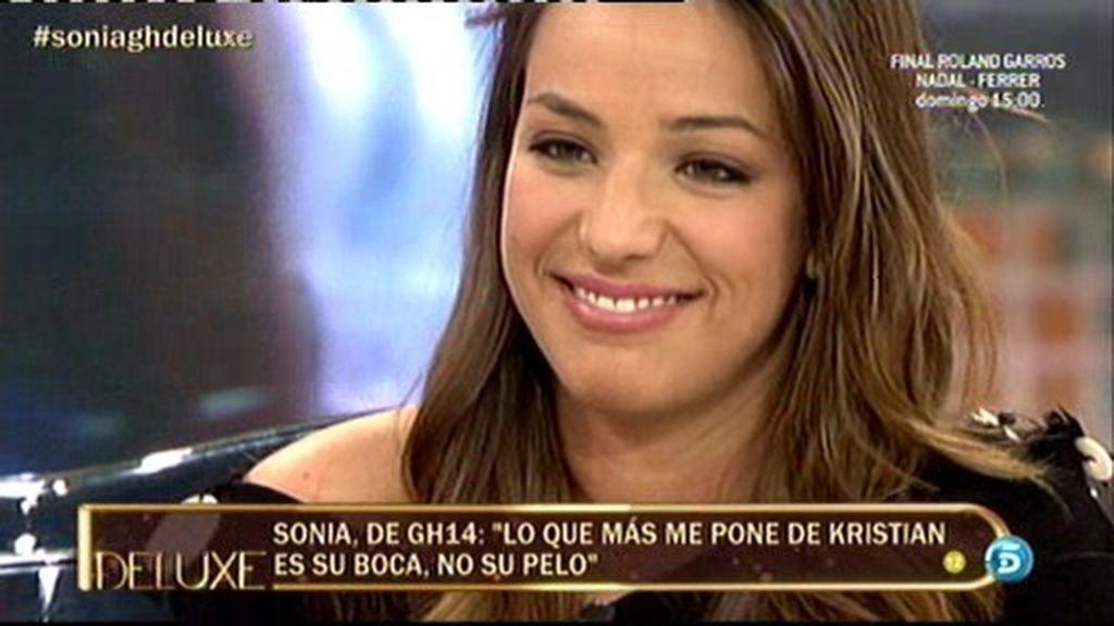 """Sonia: """"Lo que más me pone de Kris es su boca no su pelo"""""""