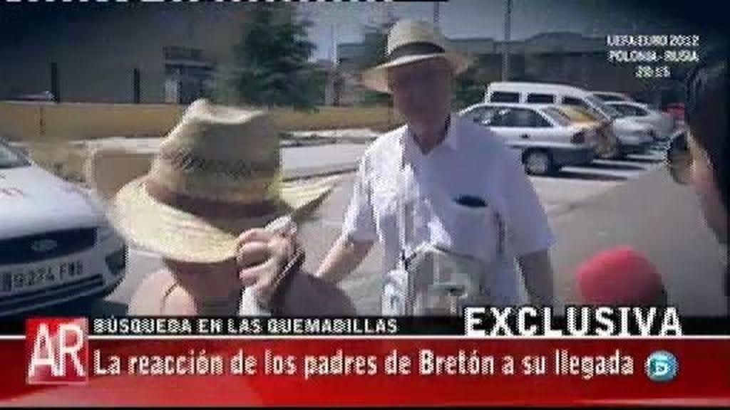 Los padres de José Bretón acudieron a la finca