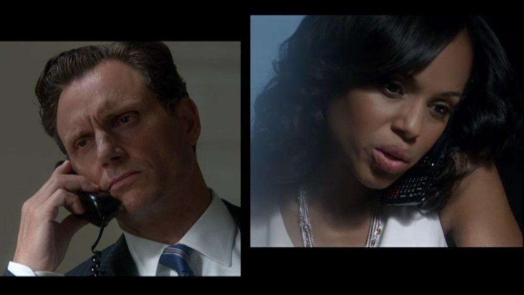 Una tensa conversación entre Olivia y el Presidente por teléfono