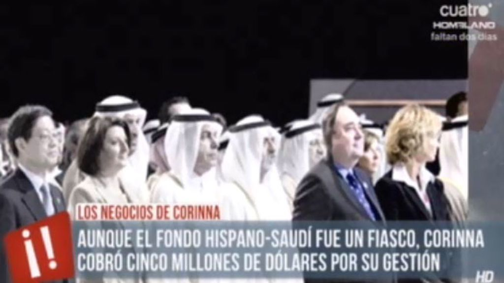 Corinna cobró 5 millones de dólares por organizar un fallido fondo hispano saudí
