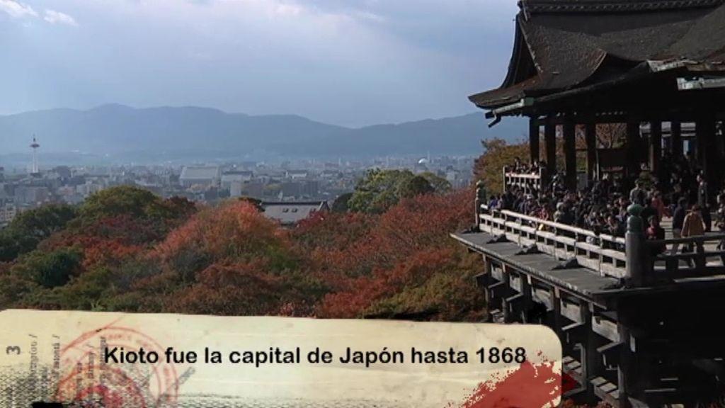 Kioto fue la capital de Japón hasta 1868