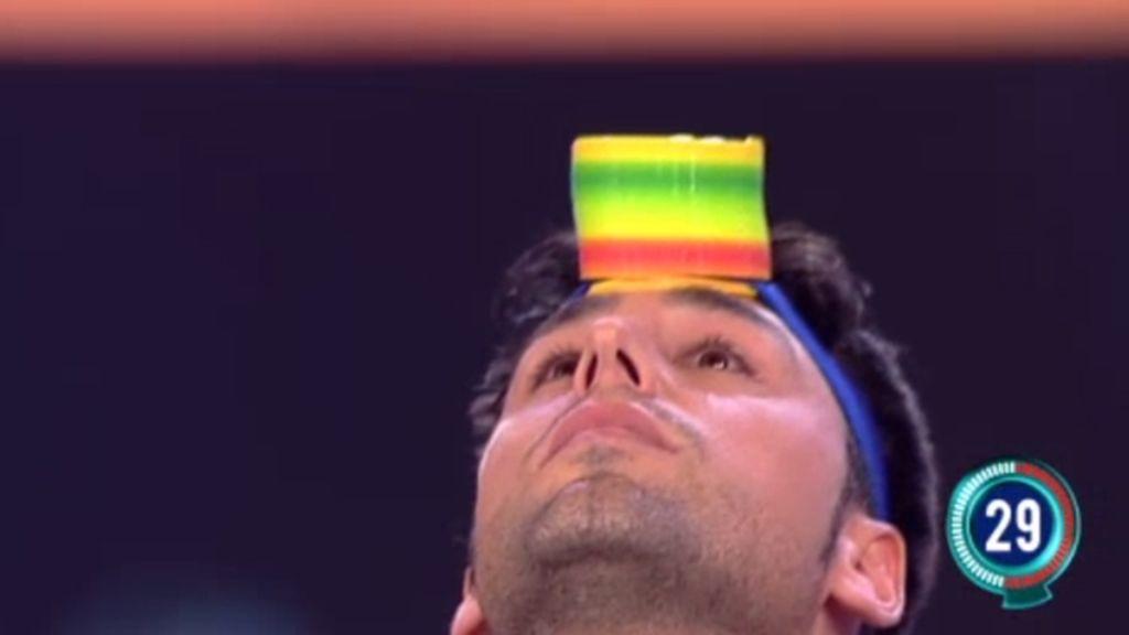 Jose Luis supera el segundo nivel sin problemas