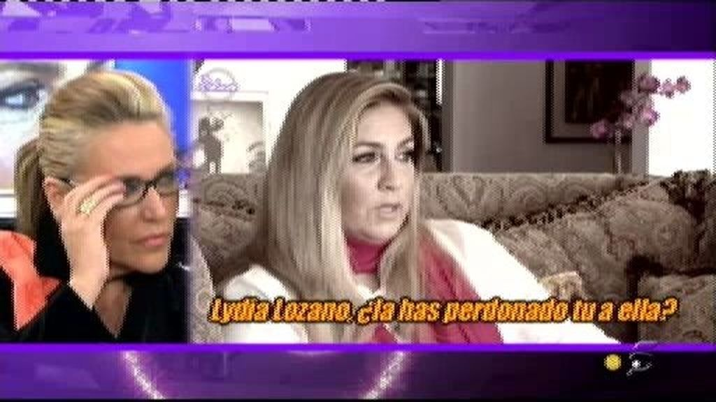 Romina habla sobre Lydia Lozano