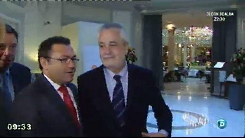 José Antonio Griñán plantea un pacto de Estado contra la crisis