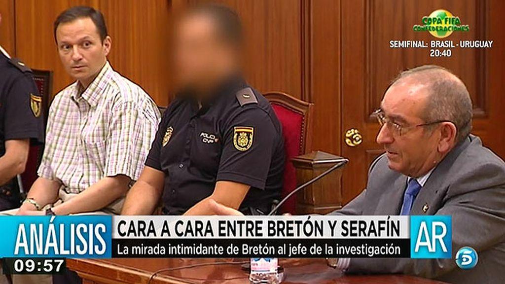 El cara a cara entre Bretón y Serafín Castro