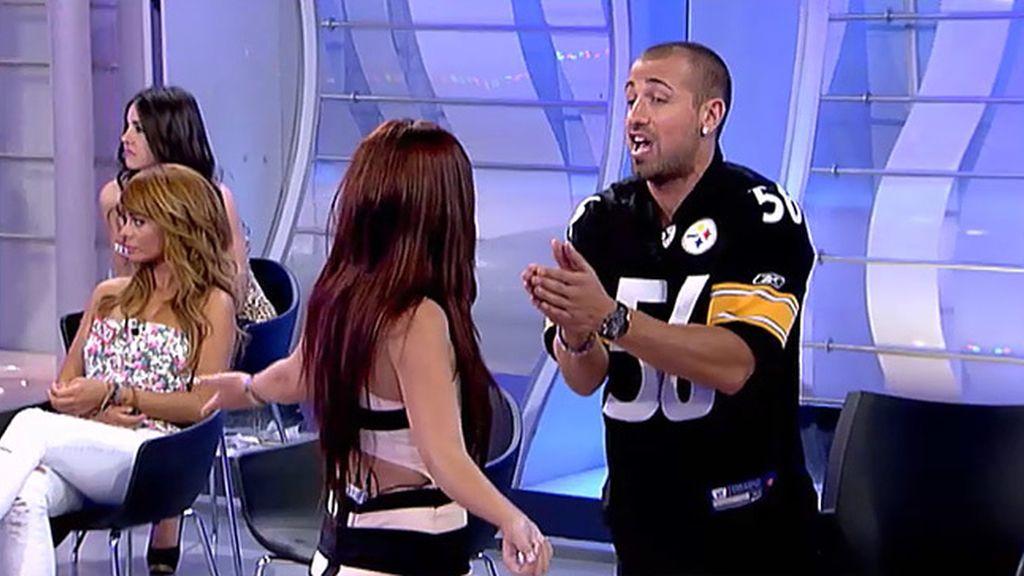 Rafa cree que Cristina tiene miedo a Fiama