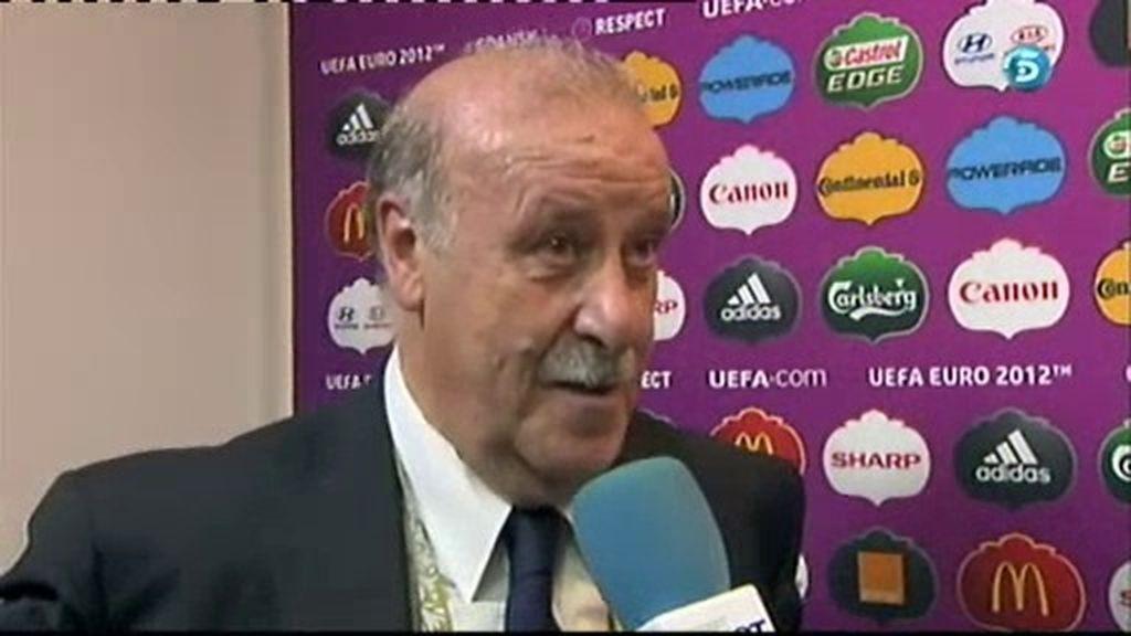 """Del Bosque: """"Ha sido un partido muy tenso y muy difícil"""""""