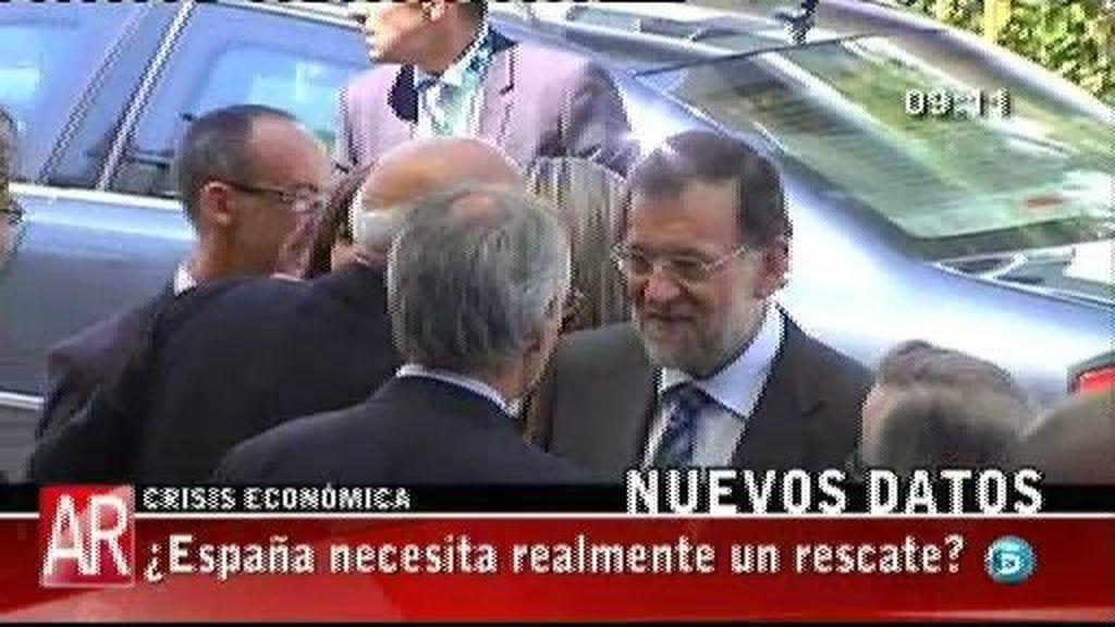 """Mariano Rajoy: """"No estamos al borde de un precipicio"""""""