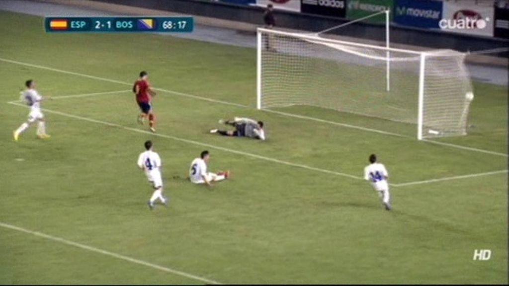 Gol de Morata (España 3-1 Bosnia)