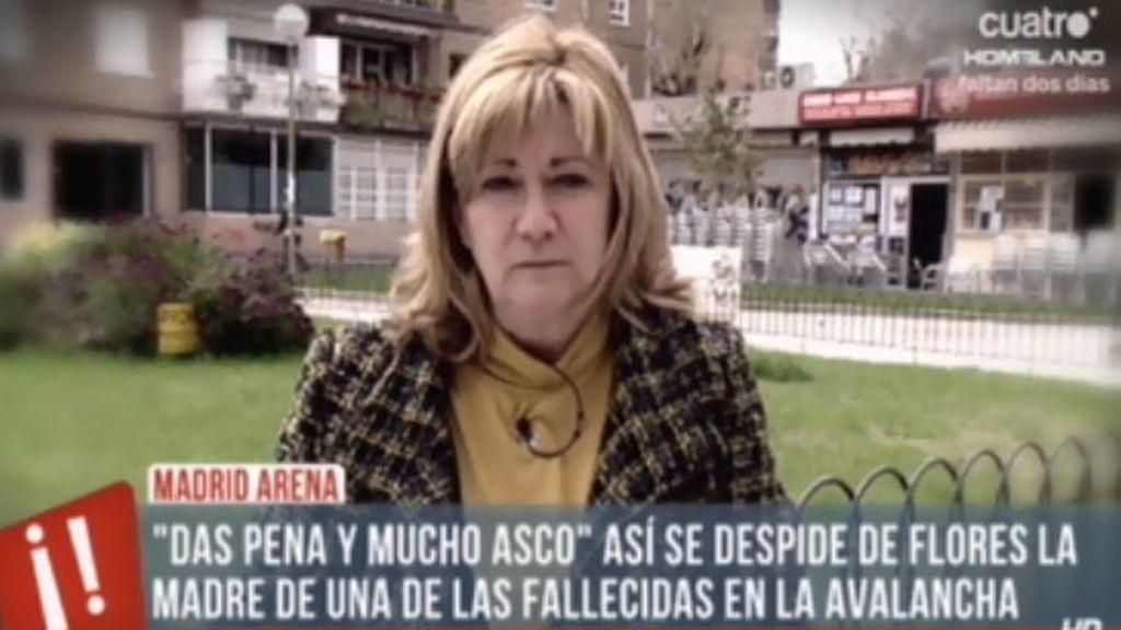 La carta de la madre de una fallecida al empresario responsable del Madrid Arena
