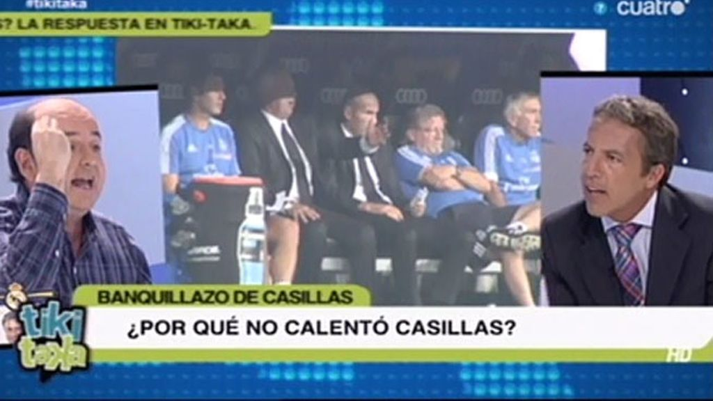 """C. Soria a J. Rodríguez: """"¿Tienes la poca vergüenza de sacar la foto de Mourinho?"""