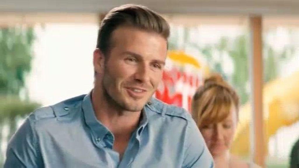 Beckham, imagen de Burger King