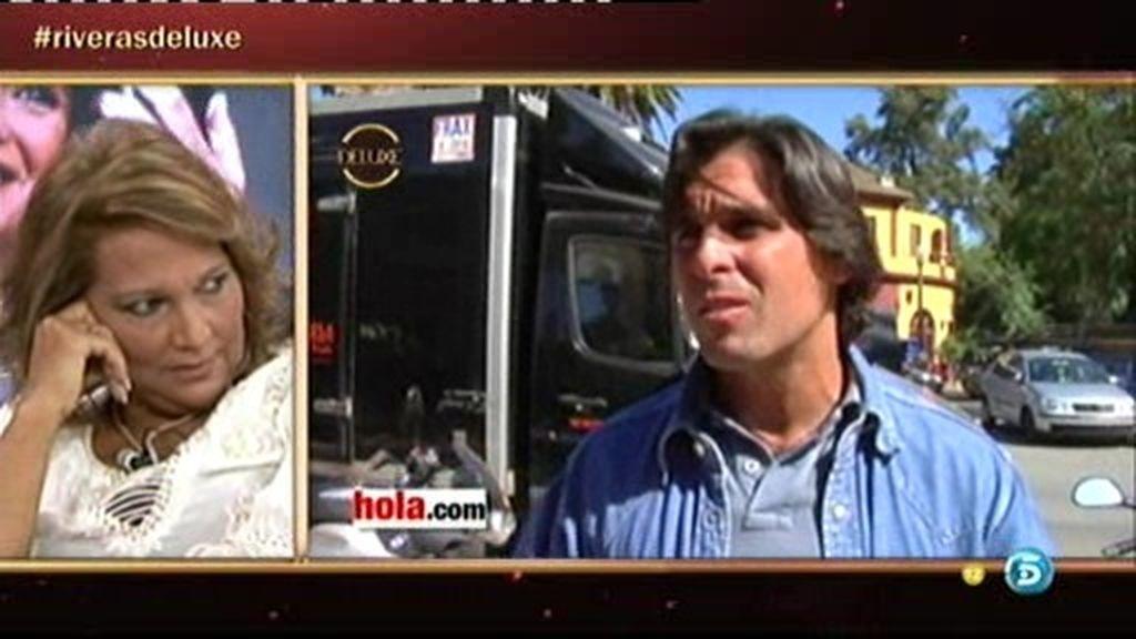 """Fran Rivera: """"Mi madre tuvo un problema con la cocaína muy gordo"""""""