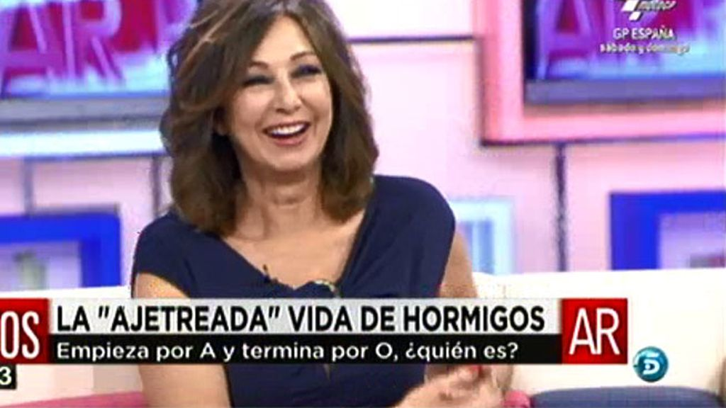 """Ana Rosa: """"Olvido Hormigos es mona pero no se puede tirar a tanta gente"""""""