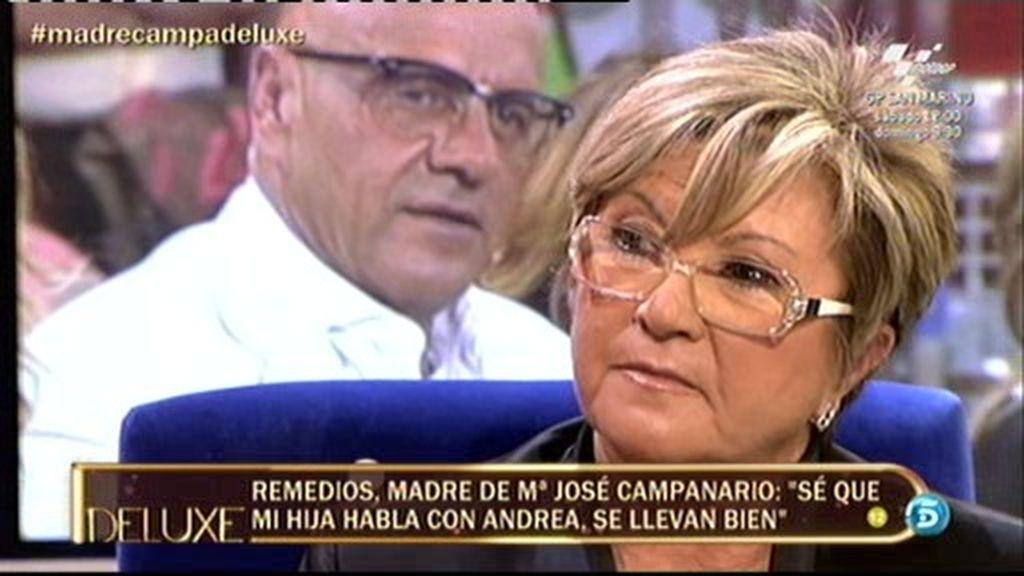 """Remedios Torres: """"Jesulín es muy padrazo con mis nietos"""""""