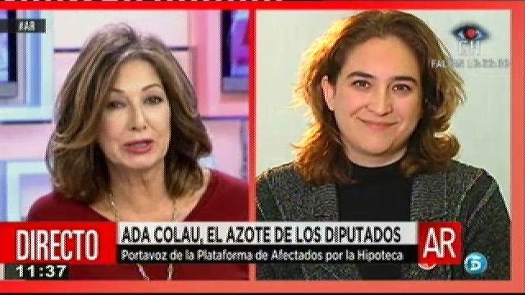 """Ada Colau: """"Somos un país bárbaro que está vulnerando los derechos fundamentales de su población"""""""