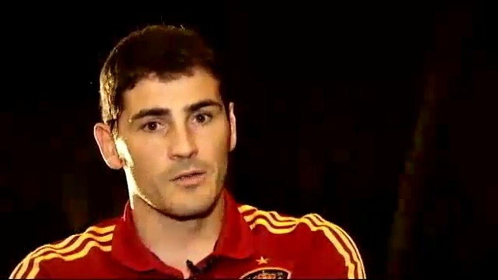 """Casillas: """"El punto de inflexión de esta selección será el mundial del 2014"""""""