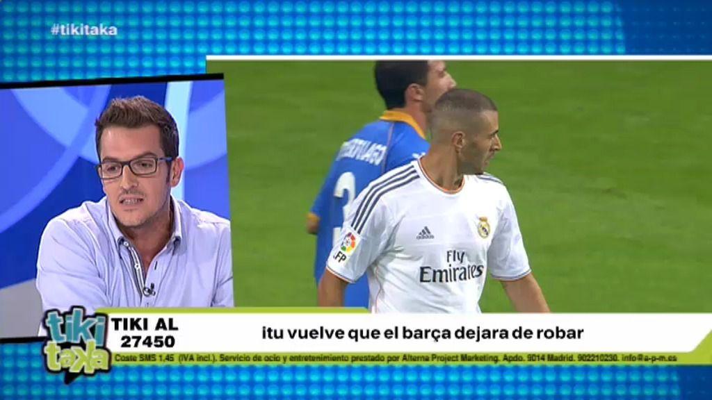 """Látigo Serrano: """"Los que pitan a Benzema no tienen ni puñetera idea de fútbol"""""""