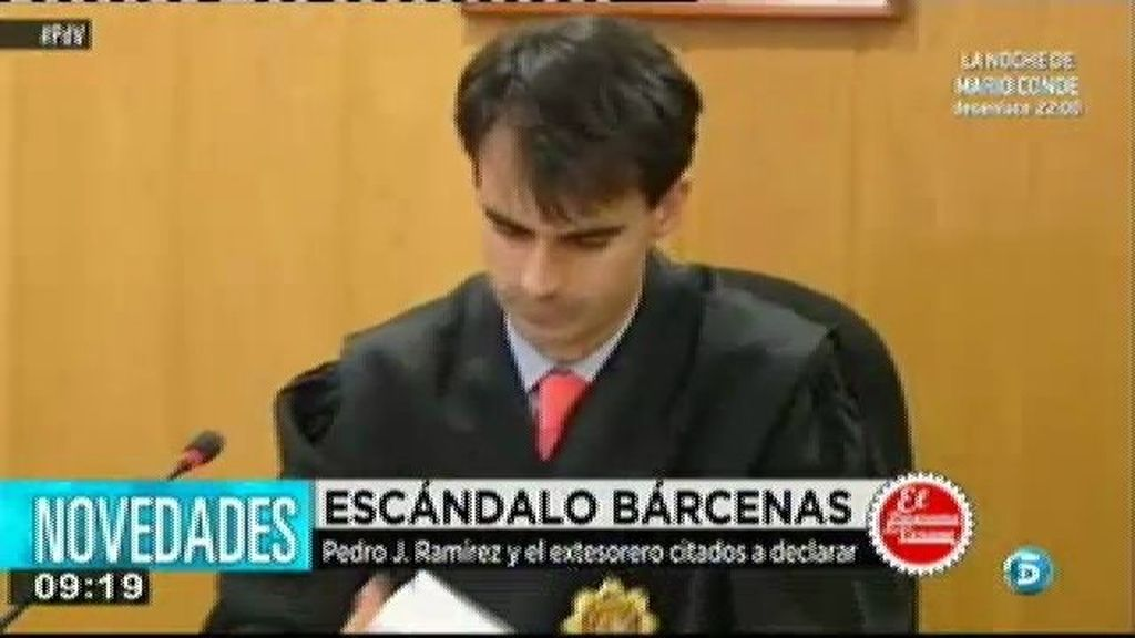 Pedro J. Ramírez declara como testigo por su entrevista con Bárcenas