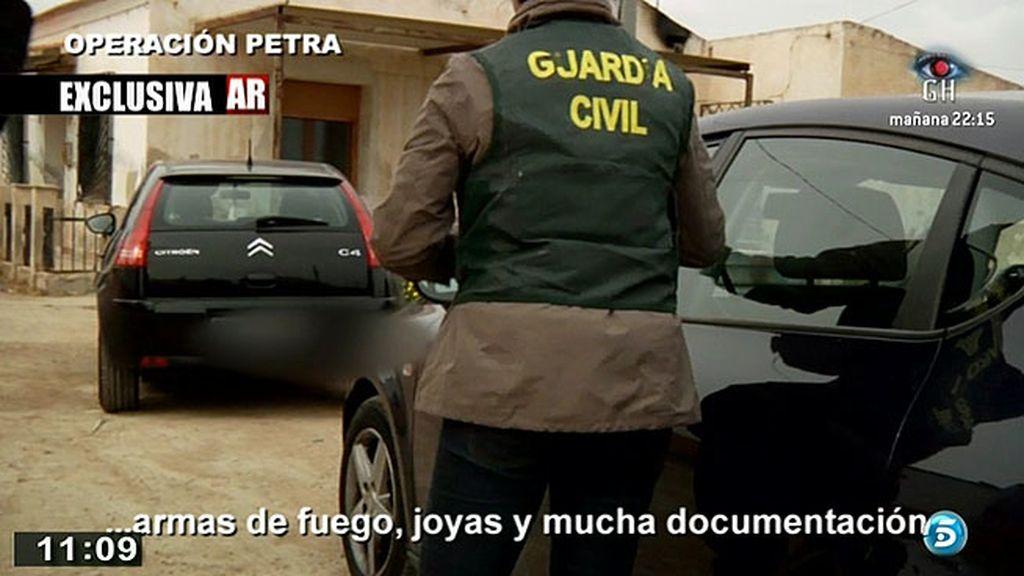 El grupo especial contra el crimen organizado de la Guardia Civil concluye con éxito la operación Petra