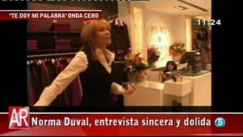 """Norma Duval: """"He pasado una depresión tremenda"""""""