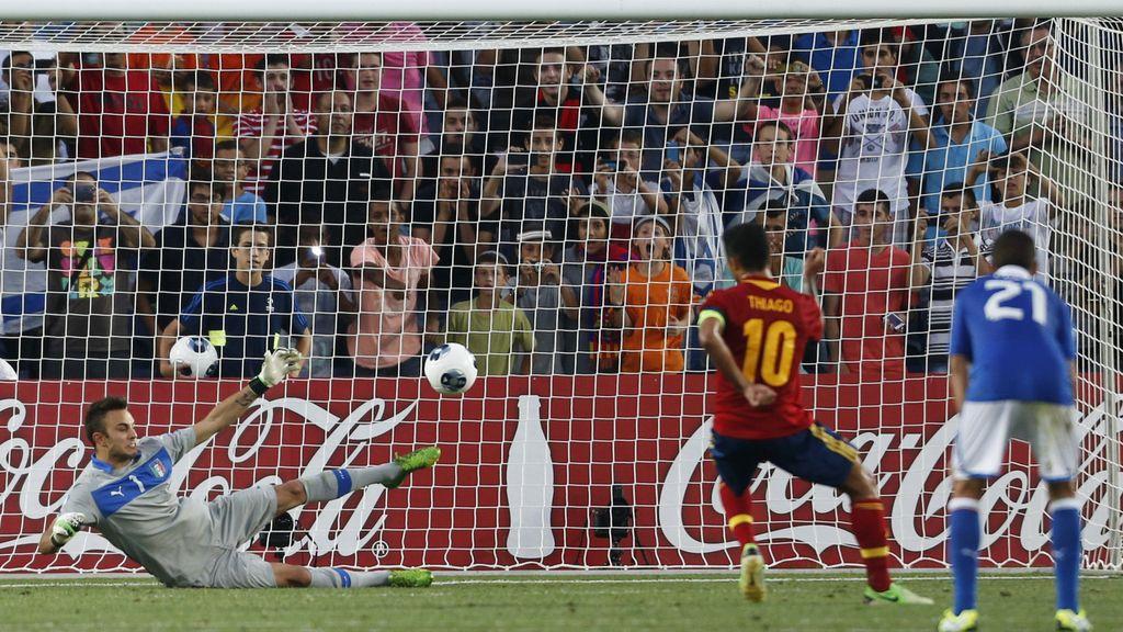 Gol: Italia 1-3 España (Min.38)