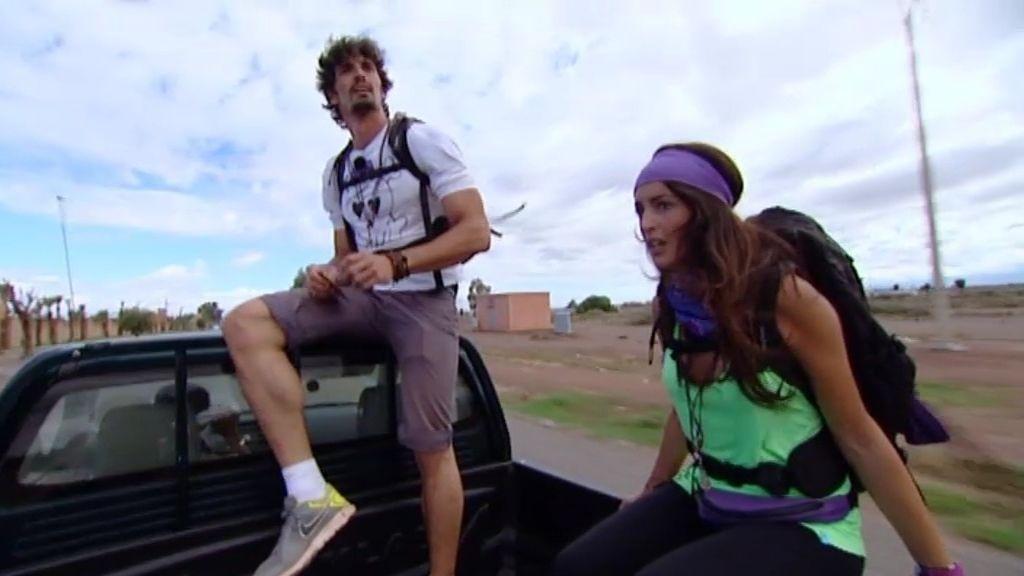 Felipe y Noelia comenzaron la final a toda velocidad