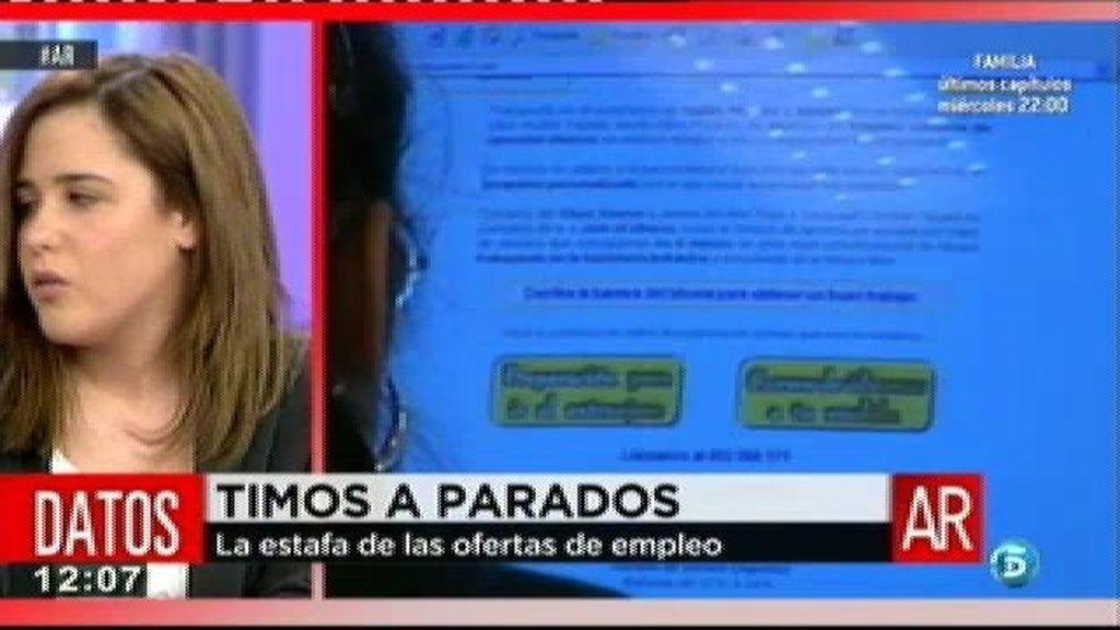 Adriana pagó 2.190 euros por un curso sin validez