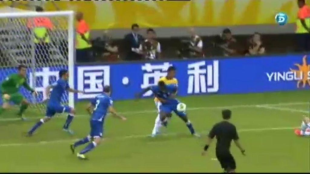 Gol: Italia 2-3 Brasil (min.71)
