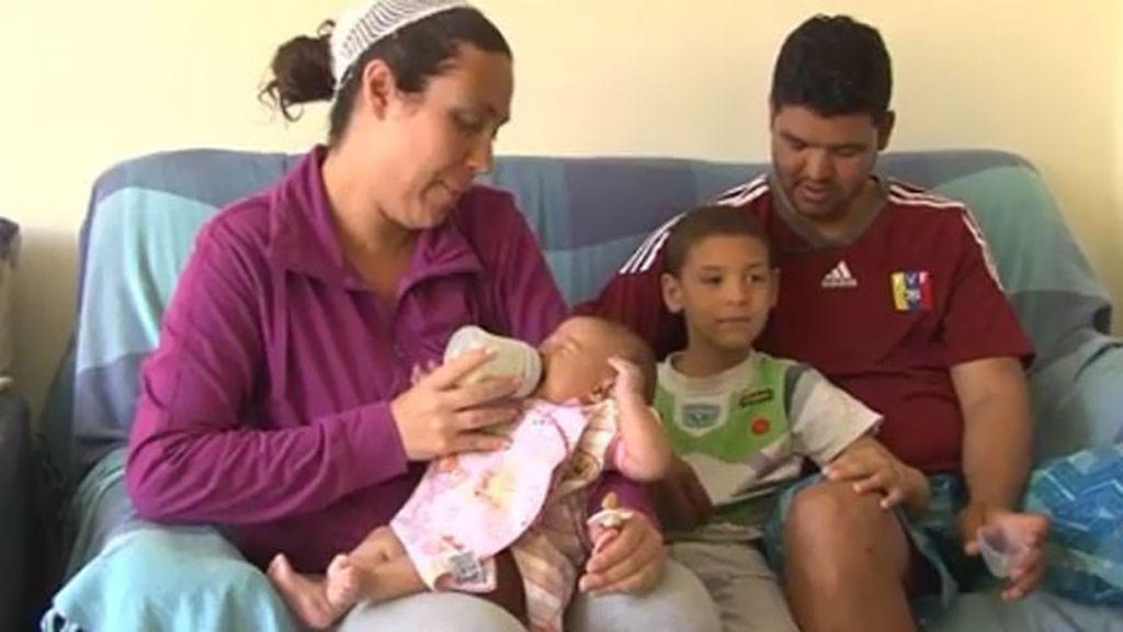 La pequeña Teresa y toda su familia sobreviven milagrosamente a la tragedia