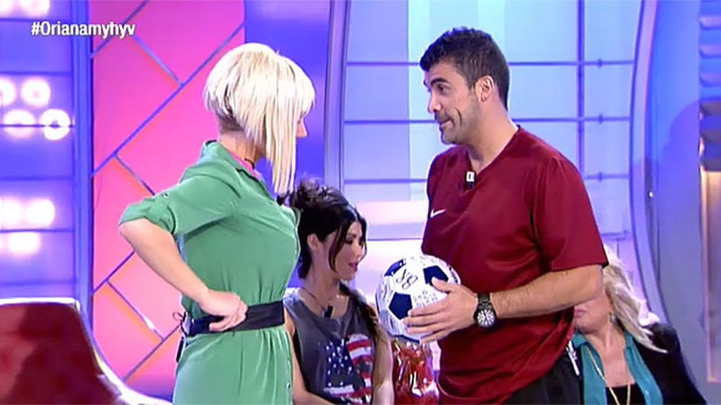 Fran, un futbolista para Belén