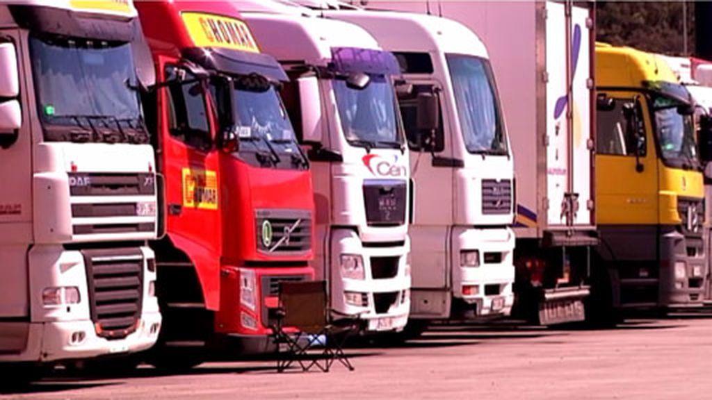 La Jonquera es el punto neurálgico de camiones de Europa