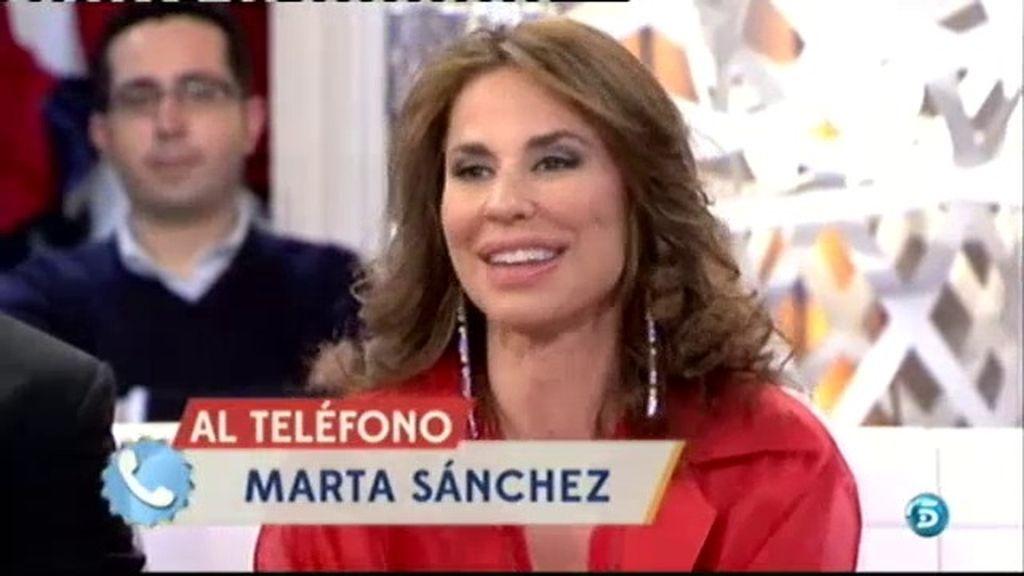 Marta Sánchez y Vicky Larraz no cierran la puerta a hacer un dueto