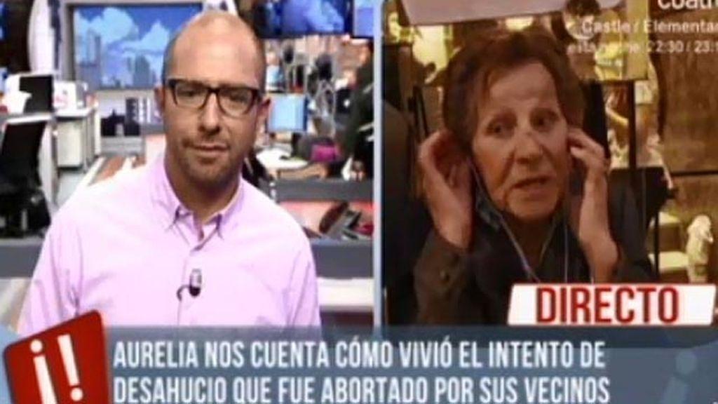 """Aurelia: """"Veo que no hay justicia y que los chorizos tienen más suerte que la gente"""""""