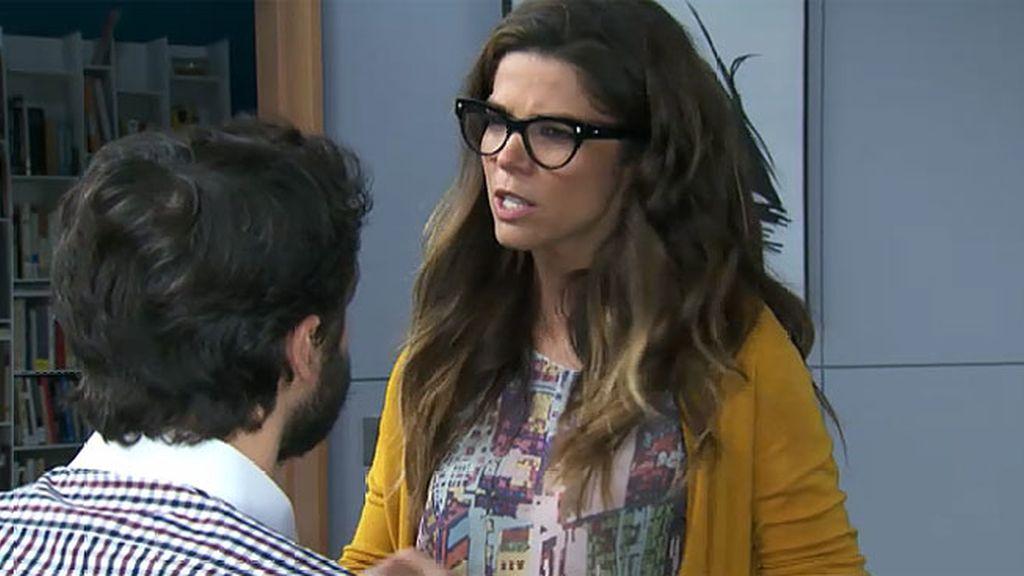 Malena no entiende la obsesión de Miguel por el dinero